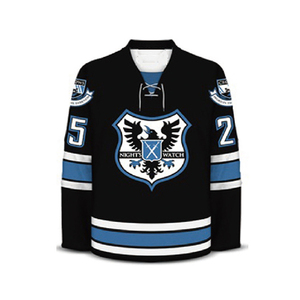 Custom made professional laced collar Ice hockey jerseys