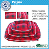 Prefab homes products PETLIKE supply lattice plush luxury pet dog beds,fine pet products
