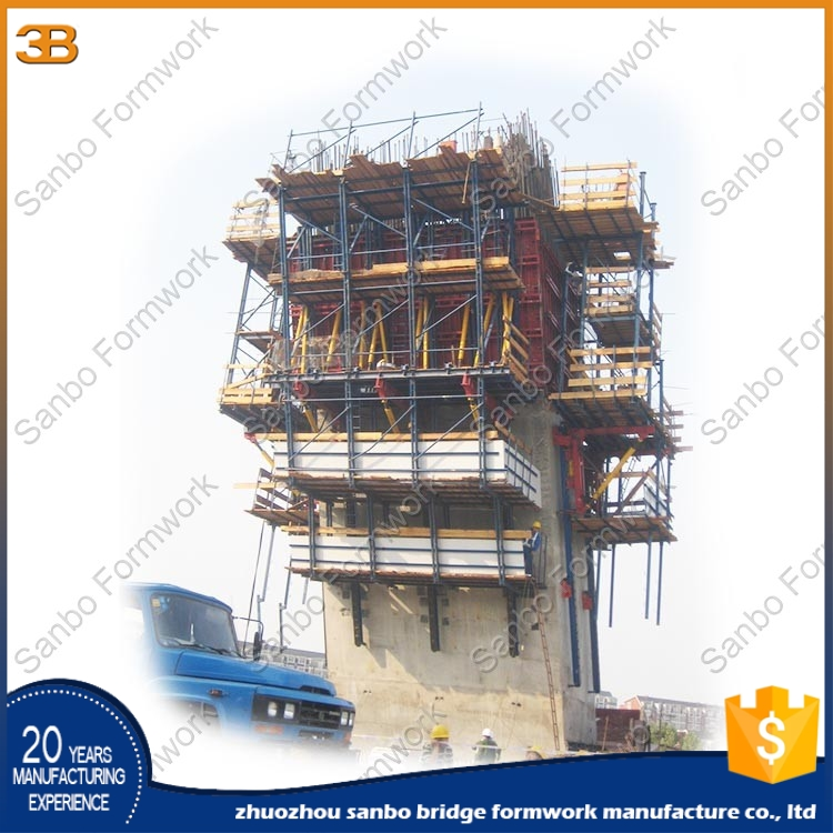 Load bearing strength quality Efficient integration high precision peri climbing formwork