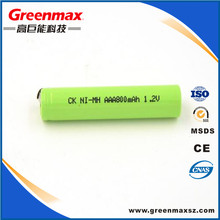 nimh 1.2 V torch light rechargeable battery