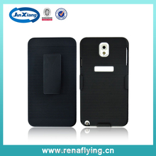 Newest For samsung galaxy note 3 n9000 holster combo case in factory wholesale