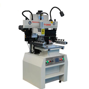 High accuracy digital display curved screen printer