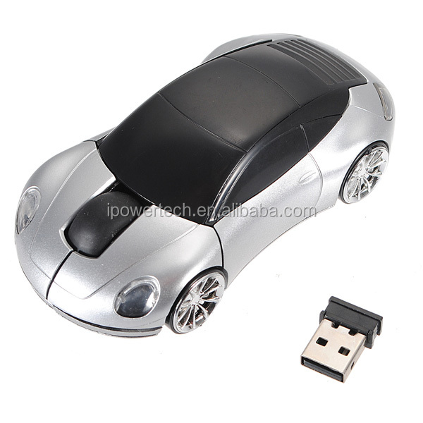 Car Shape 2.4G Driver USB Gaming Mouse Optical Wireless Mouse