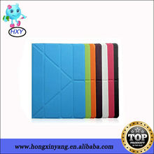 PU Leather 4 Folded Transformer Standing Case For ipad 2 3 4