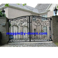 Wrought Iron Garden Main Gate Designs