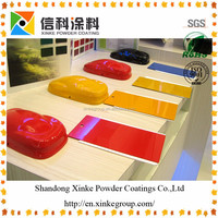 Smooth Finish Electrostatic Powder Paint Coating