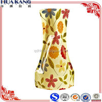 Colorful plastic foldable flower vase