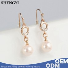 simple ear hook hook gold plating alloy earring designs for women