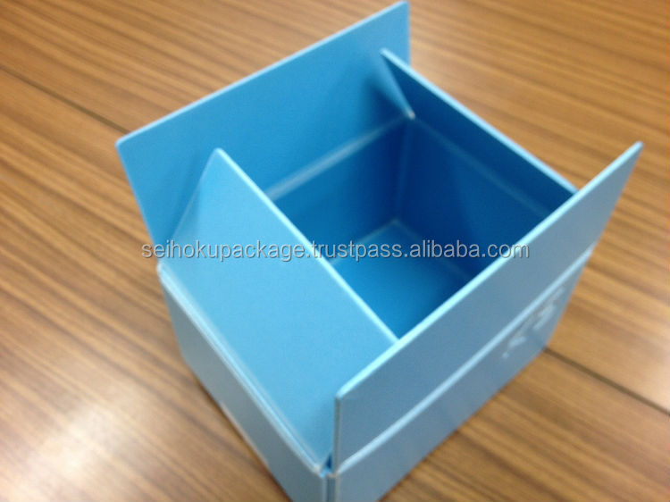 Antistatic and recyclable polypropylene foam plastic box packaging