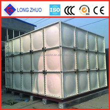 Above Ground Fiberglass Water Tanks/ GRP combined water tank/ SMC water storage tank