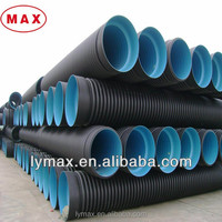 Good Price Black Plastic HDPE Corrugated Drainage Pipe
