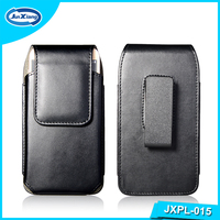 New product 360 degree rotation belt clip universal flip leather back cover case for 4.7 inch phone