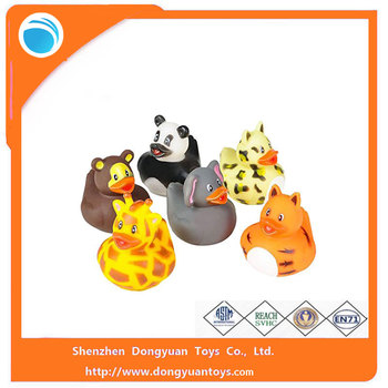 OEM Wholesale Baby Bath Duck Toy