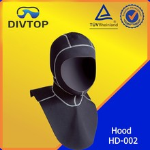 Neoprene fabric diving suit helmet