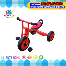 Plastic tricycle bike walking cheap wholesale toy tricycle for children