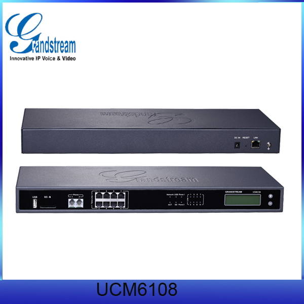 GrandStream UCM6108 IP SIP Trunk PBX System
