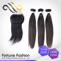 iBeauty hairpieces human hair straight silk base clsoure, Brazilian human hair bundle with closure in Guangzhou