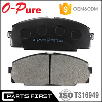 Black break pad Asbestos free car spare parts MK D2104 Auto Front Brake pad for Toyota Hiace 04465-25040