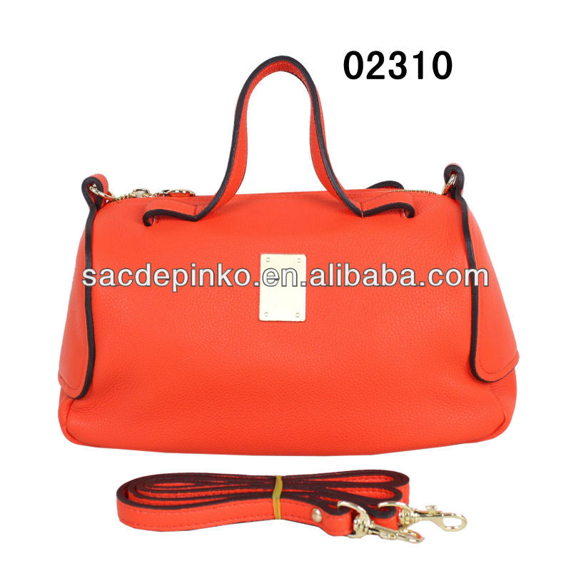 2015 Fashion custom wholesale lady pu angel kiss hand bag