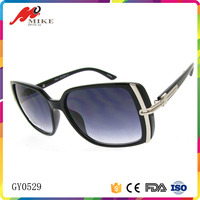 China factory unique logo printing women square sunglasses