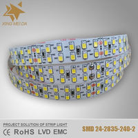 Waterproof 2835 continuous length flexible led light strip