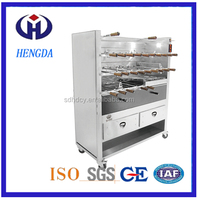 Resterant Commercial Charcoal BBQ Grill