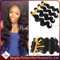 high quality 5a full cuticle double strong weft,body wave 100% virgin indian hair