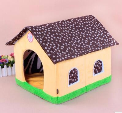Custom indoor cheap plush dog houses