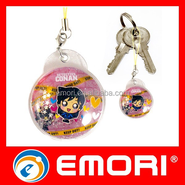 TOP quanlity customized keychain promotional lightweight custom liquid key chain