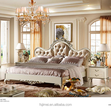 Classical white luxury bedroom furniture sets