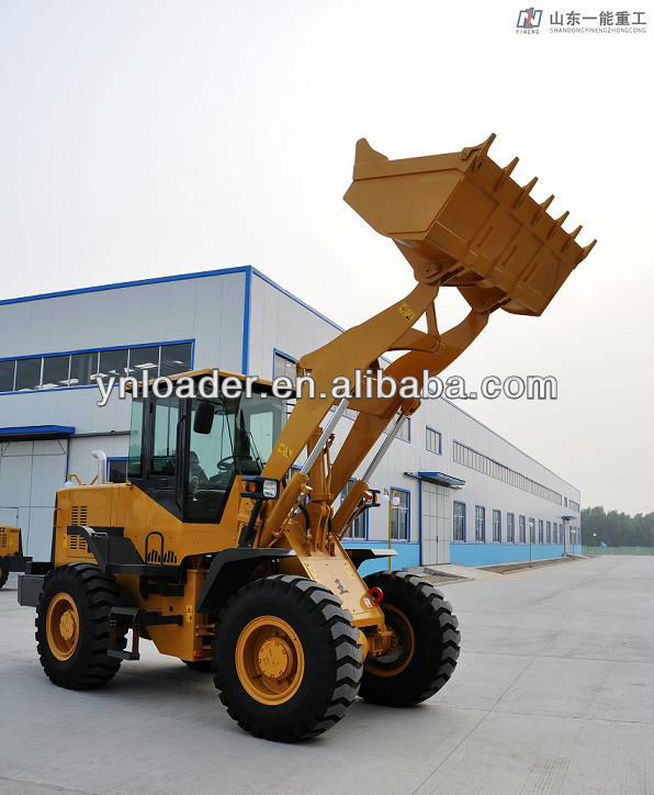 YN938 wheel loader with Cumins engine electrical transmission high dump