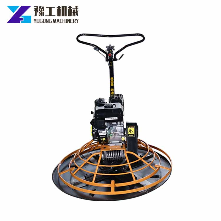 YG GX690 Honda engine factory price walking type troweling polishing machine with unique blades