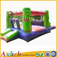 Popular customized baby bouncer vibrating inflatable body bouncer for sale