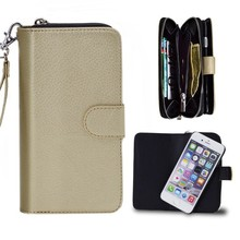 Telephones Portables Mobilephone Leather Cover Case Women Hand Bag Wallet Case for Iphone 6s