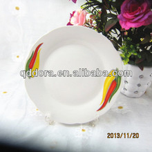 ceramic fruit and vegetable plate