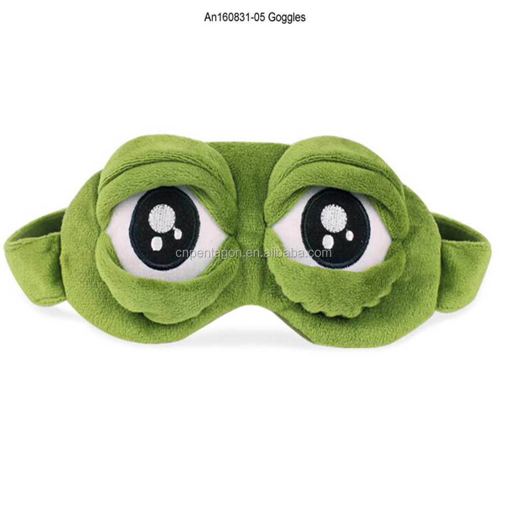 New fashion product plush goggle toys disposable for kids promotional