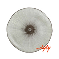 Wholesale handwoven decorative round paper placemat for restaurant
