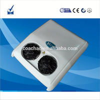Hot sale DC battery powered electric 12v 24v dc air conditioner for cooling Tractor,Truck, Trailer cabin,minivan used