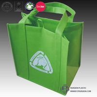 Eco-friendly pp non woven packing bags for shopping