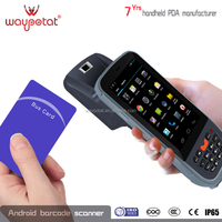 waypotat android pda ip65 support barcode nfc gps android 4.3 i6200s