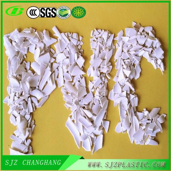 2016 factory Supply price! Recycled pvc scrap White/Gray color useful for sale