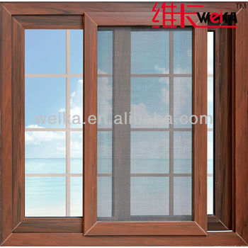 new good quality french pvc mosquito net windows