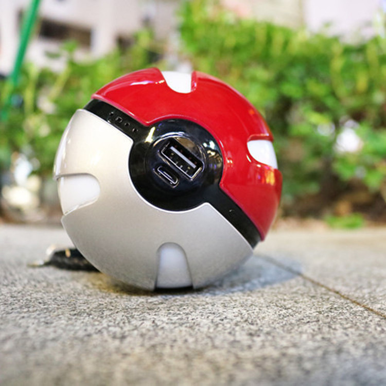 HOT NEW Pokeball Pokemon go related battery charger power bank