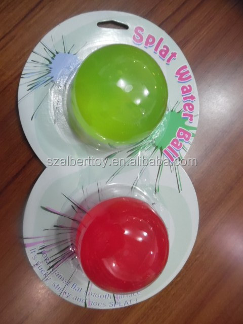 sticky smash water desk game toys jelly ball
