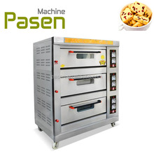 Trade assurance cake baking oven / baked chicken wings machine / bakery for sale