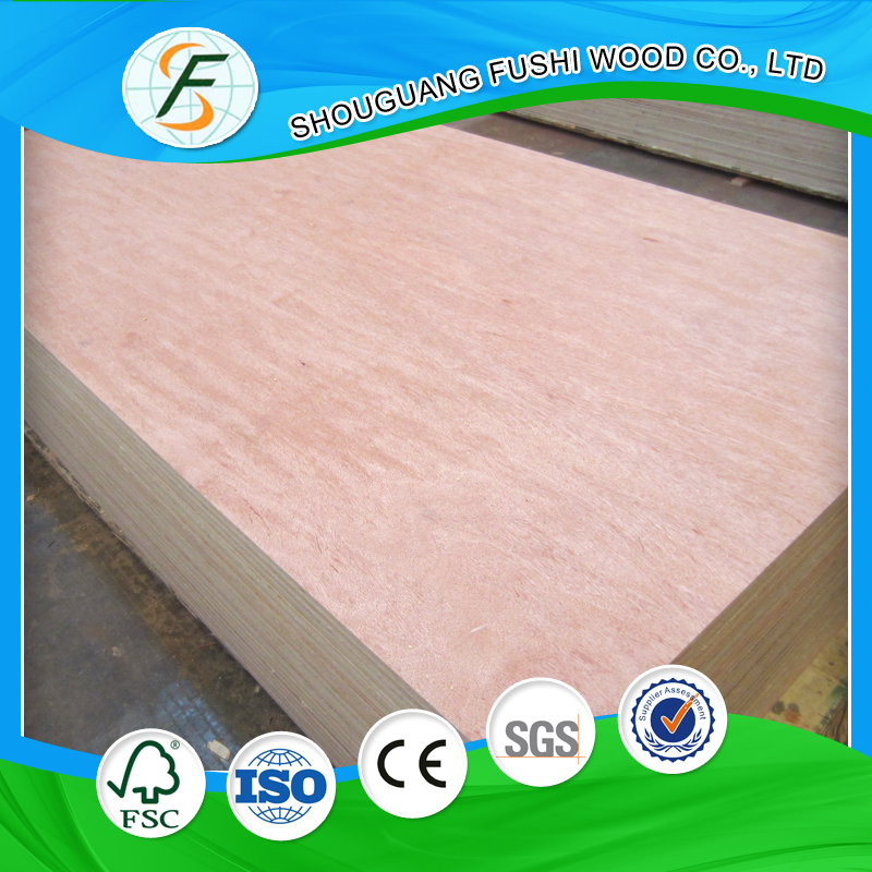 indoor decoration decorative E0 glue plywood 12mm 15mm 18mm