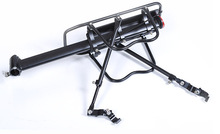 2017 new coming alloy bicycle luggage carrier bike carrier rear