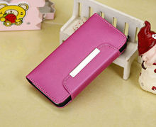 Leather Flip IC Card Slot Wallet Magnetic Case Cover for iPhone 5C