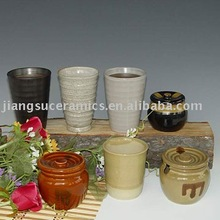 Ceramic Table Ware pottery mug canister ceramic pot