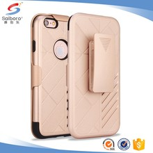 Mobile phone accessories factory in china Hybrid Armor for iphone 6 s case